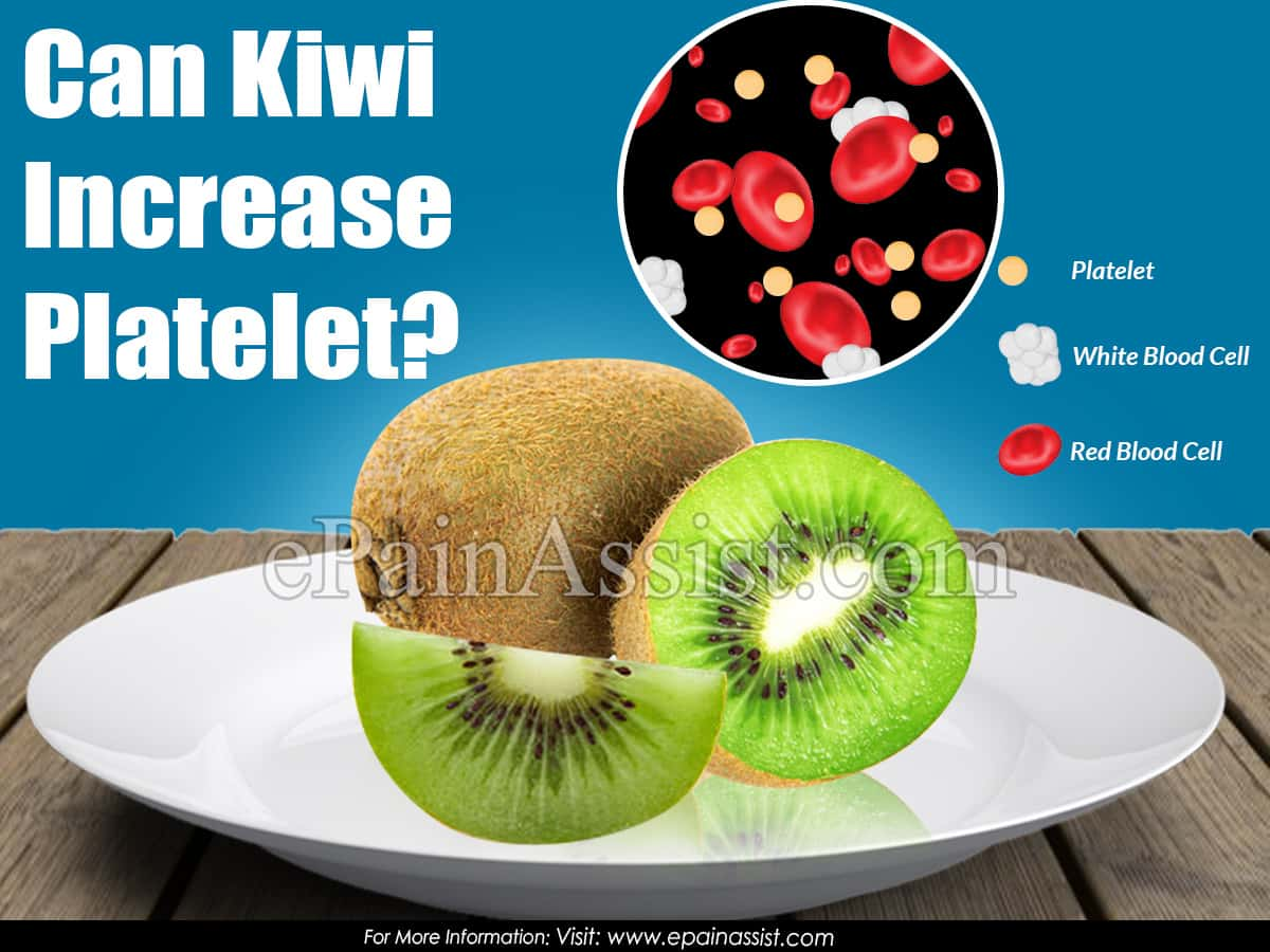 Can Kiwi Increase Platelet?