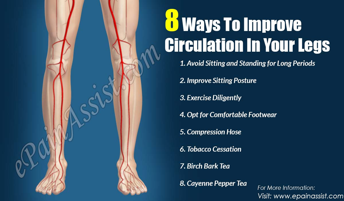 8 Ways To Improve Circulation In Your Legs
