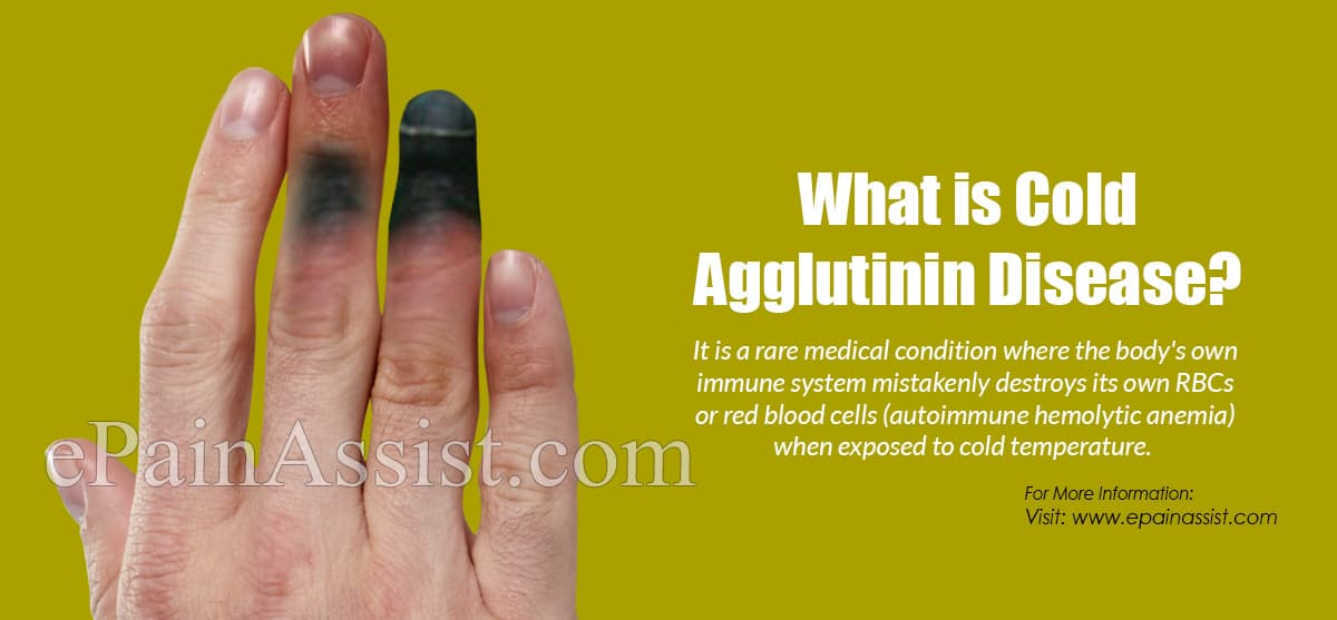 What is Cold Agglutinin Disease?