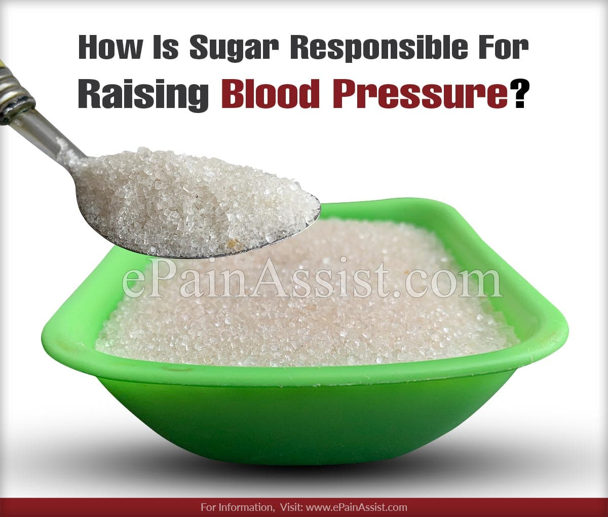 How Is Sugar Responsible For Raising Blood Pressure?