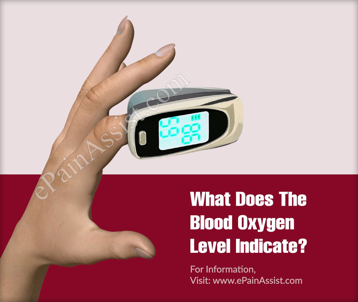 What Does The Blood Oxygen Level Indicate?
