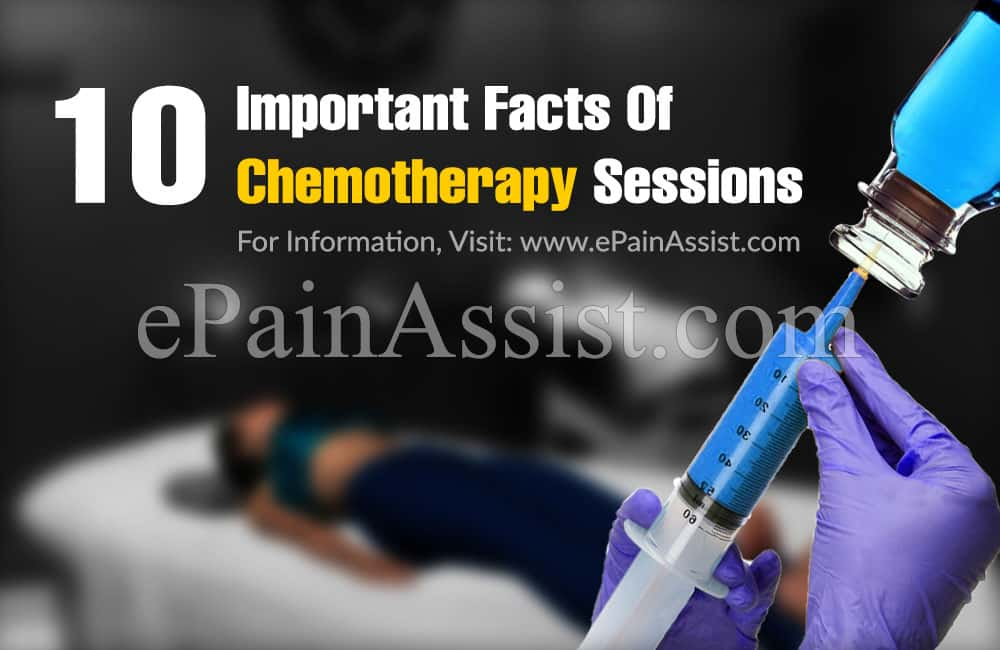 10 Important Facts Of Chemotherapy Sessions