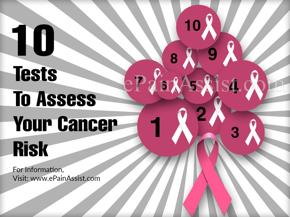 10 Tests To Assess Your Cancer Risk