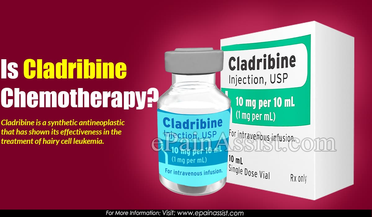 Is Cladribine Chemotherapy?