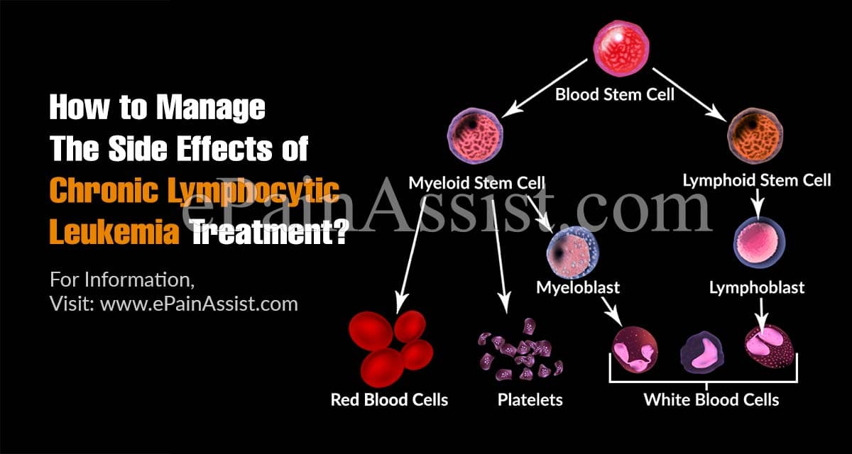 How to Manage The Side Effects of Chronic Lymphocytic Leukemia Treatment?