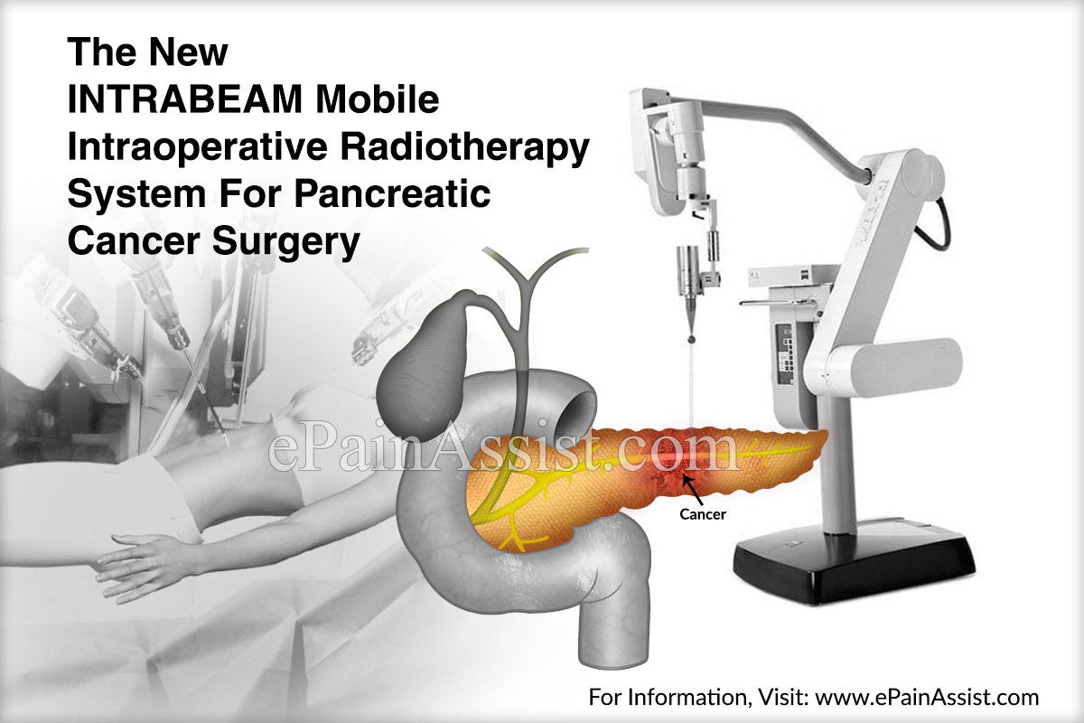 The New INTRABEAM Mobile Intraoperative Radiotherapy System For Pancreatic Cancer Surgery