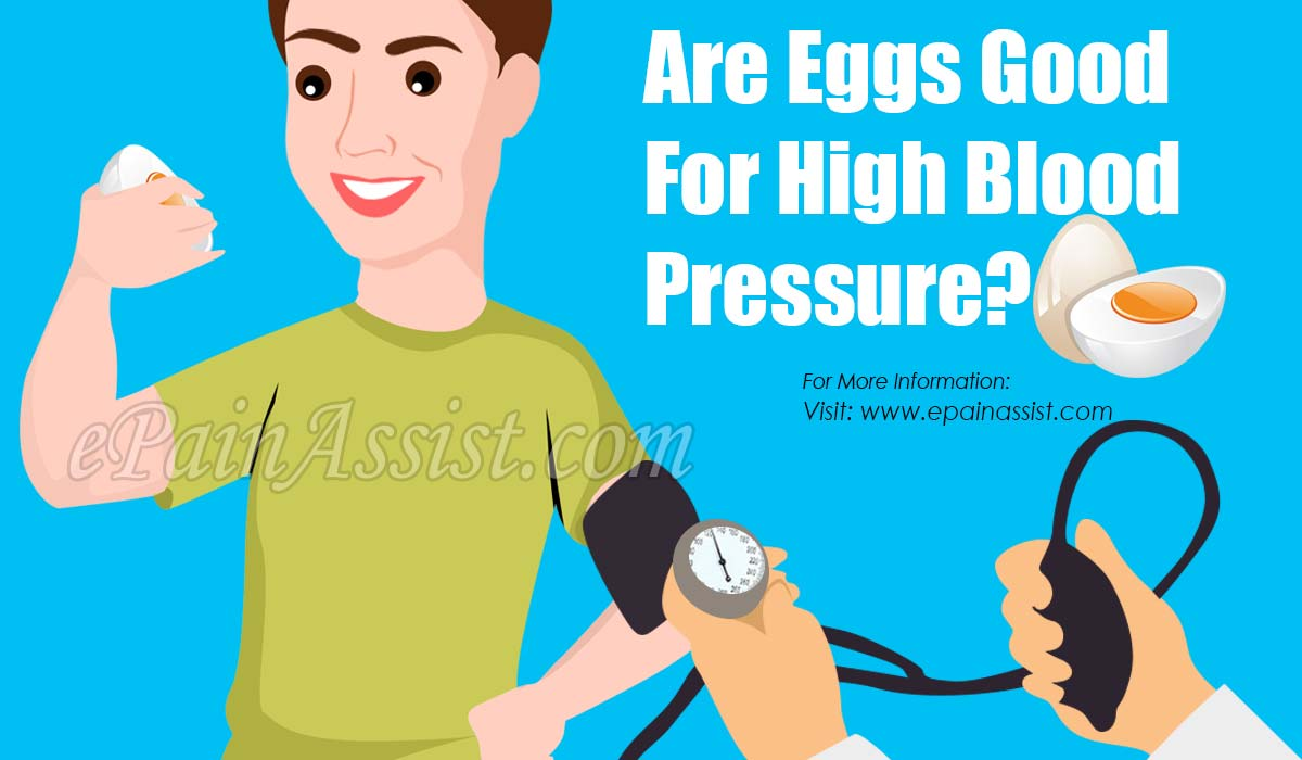 Are Eggs Good For High Blood Pressure?
