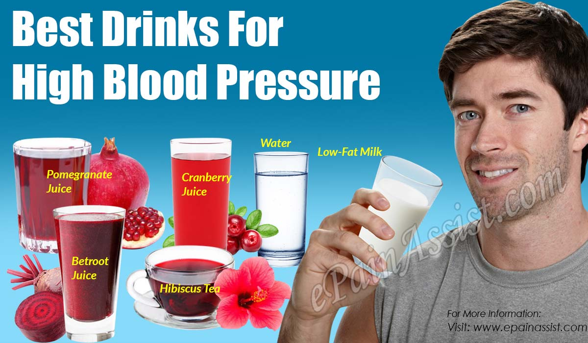 Best Drinks For High Blood Pressure