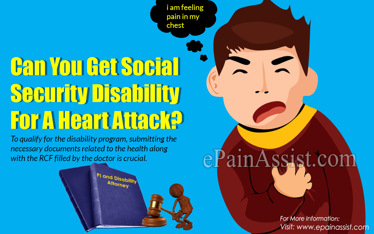 Can You Get Social Security Disability For A Heart Attack?