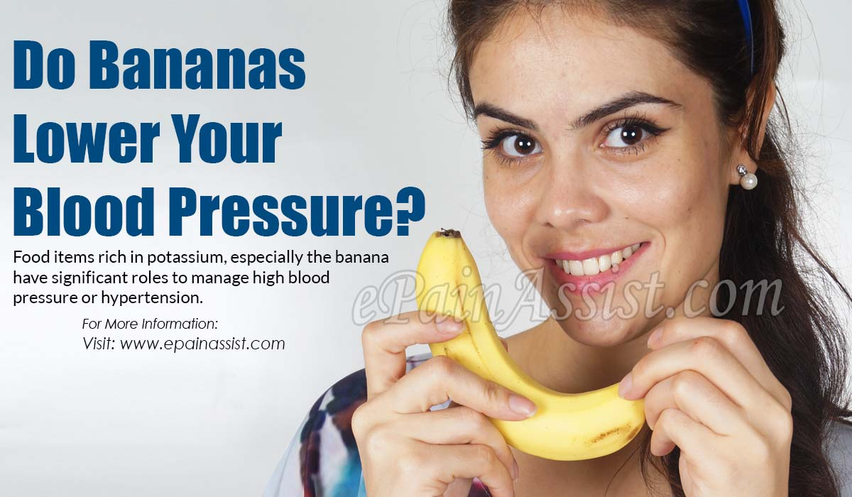 Do Bananas Lower Your Blood Pressure?