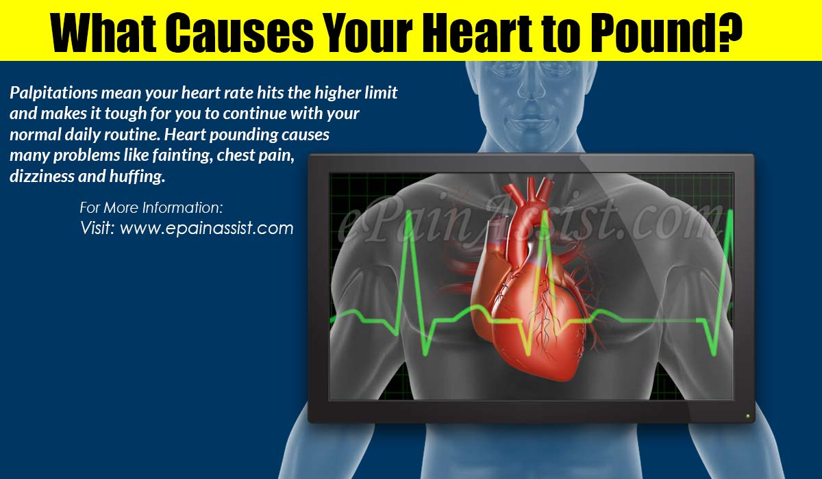 What Causes Your Heart to Pound & How to Stop it Naturally?