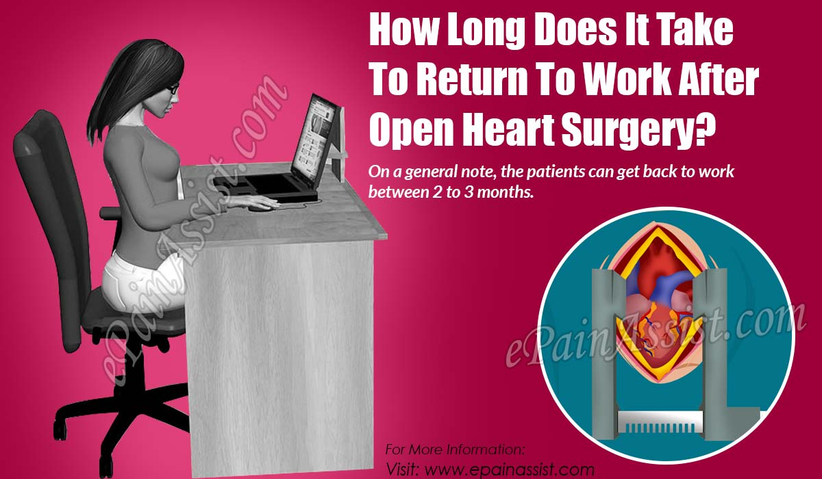 How Long Does It Take To Return To Work After Open Heart Surgery?