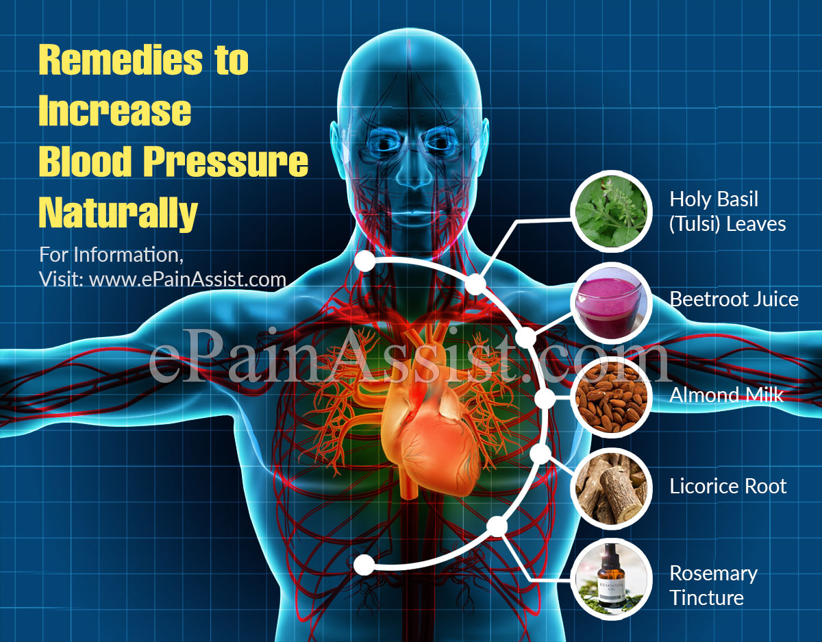 How To Increase Blood Pressure Naturally?