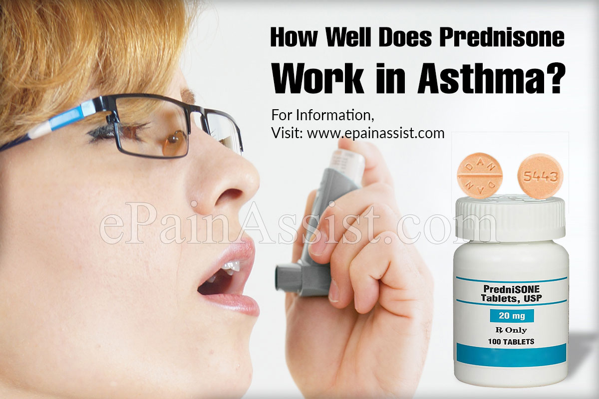 How Well Does Prednisone Work in Asthma?