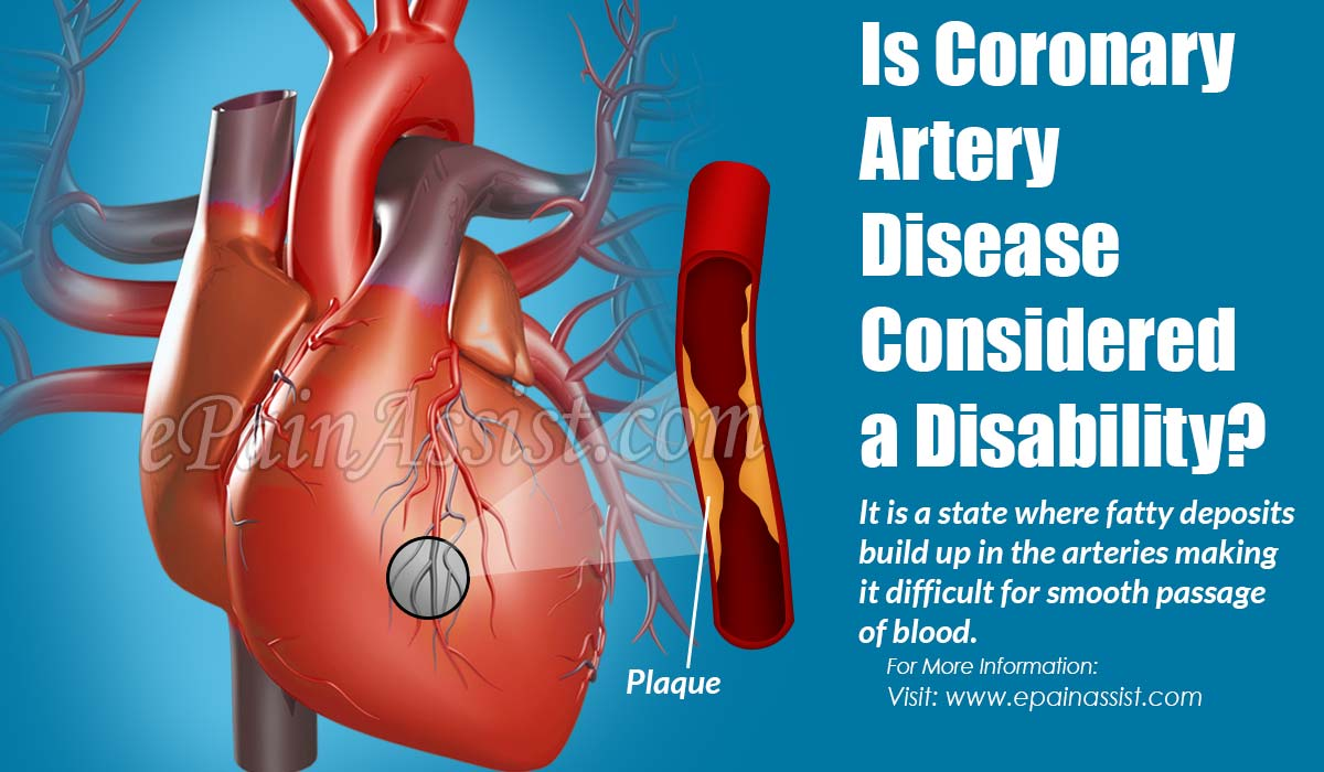 Is Coronary Artery Disease Considered a Disability?