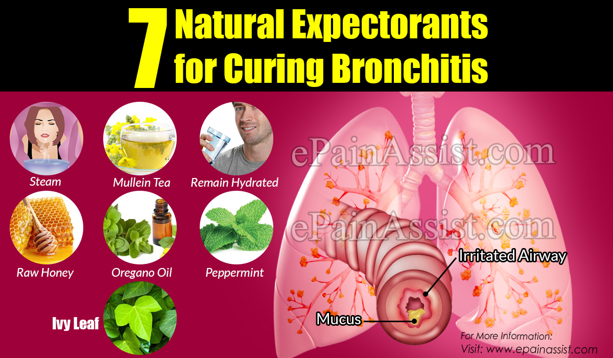 7 Natural Expectorants for Curing Bronchitis