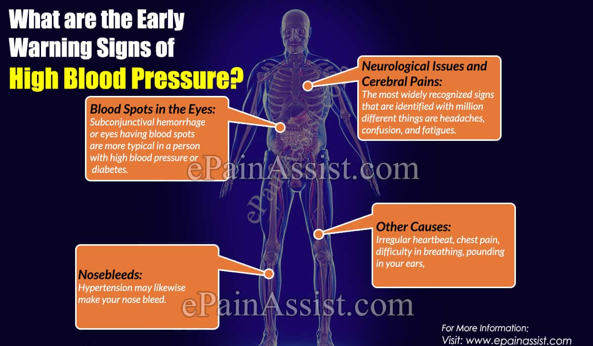 What are the Early Warning Signs of High Blood Pressure?
