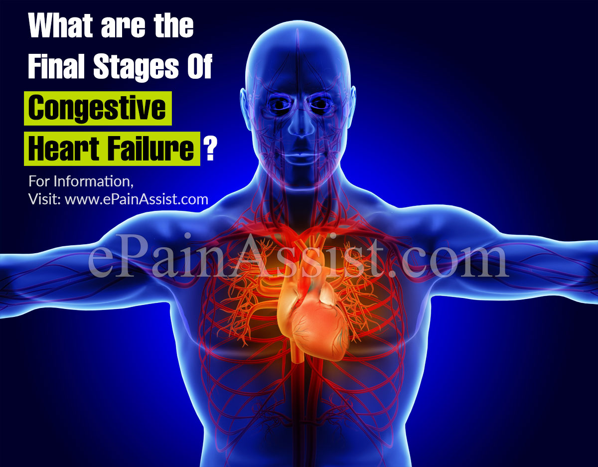 What are the Final Stages Of Congestive Heart Failure?