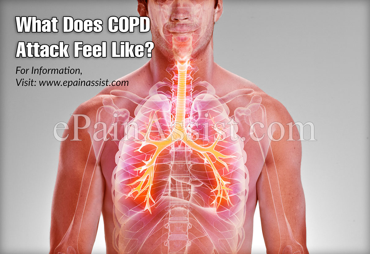 What Does COPD Attack Feel Like?