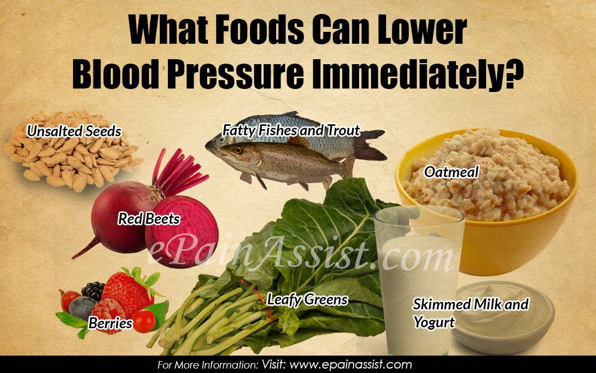 Natural Foods To Lower Blood Pressure