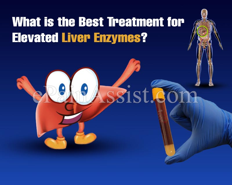 What is The Best Treatment for Elevated Liver Enzymes?
