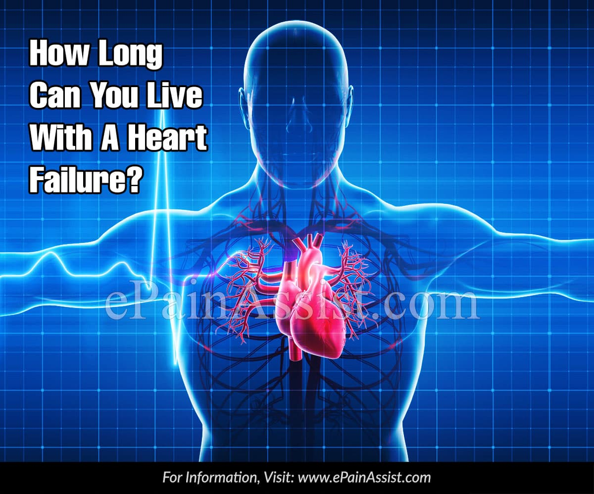 How Long Can You Live With A Heart Failure?