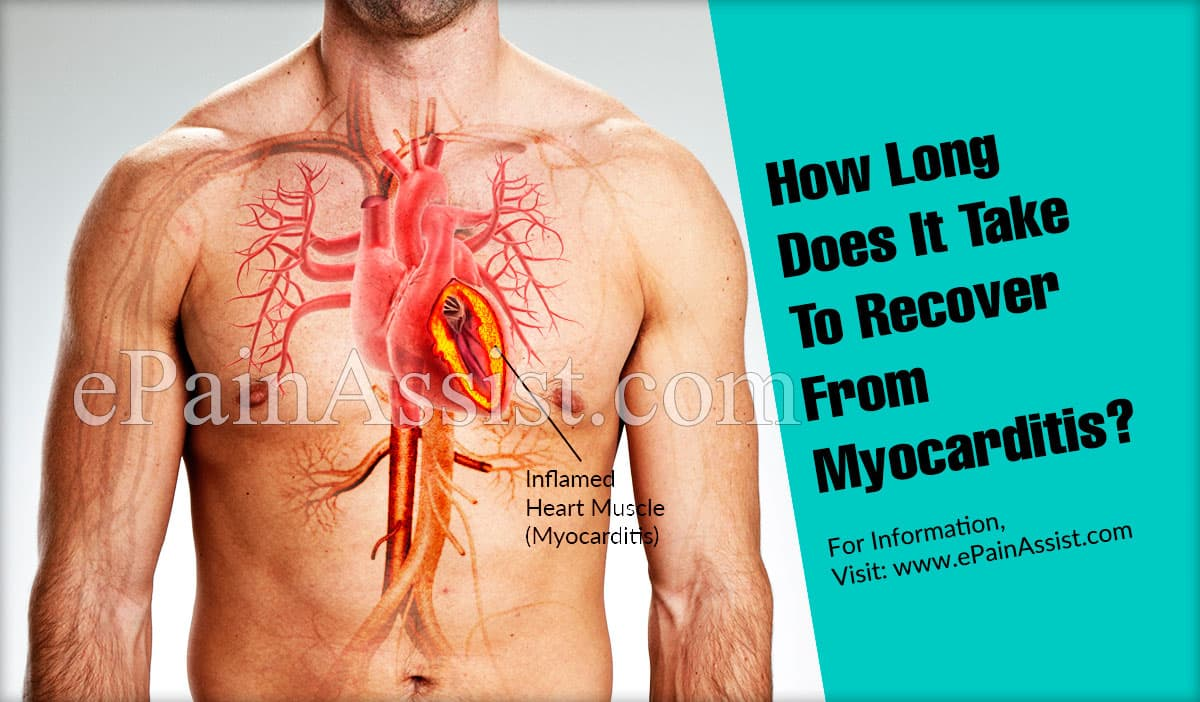 How Long Does It Take To Recover From Myocarditis?