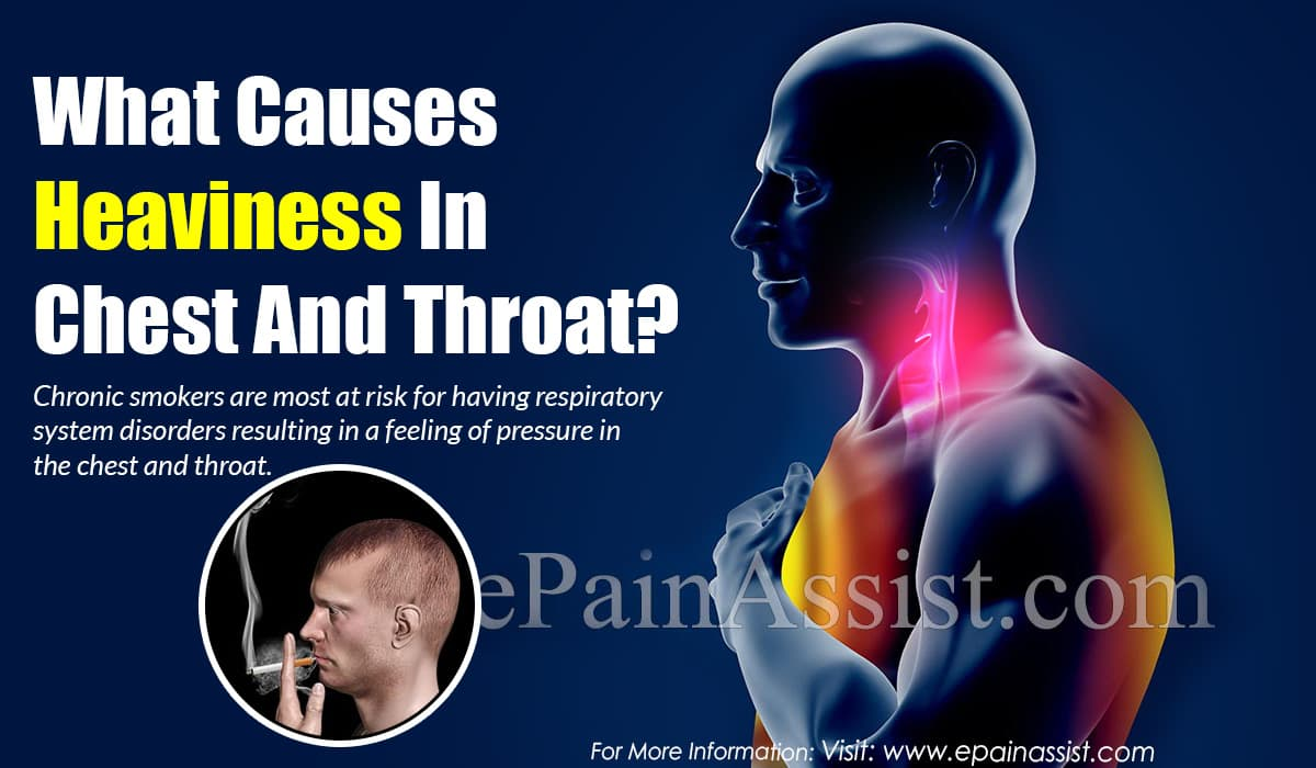 What Causes Heaviness In Chest And Throat?