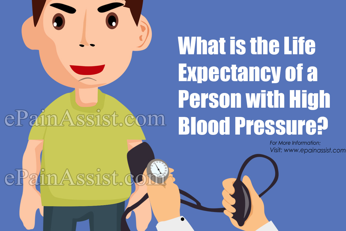 What is the Life Expectancy of a Person with High Blood Pressure?