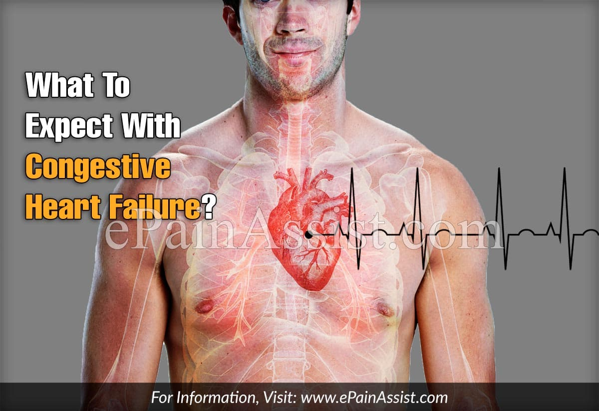 What To Expect With Congestive Heart Failure?
