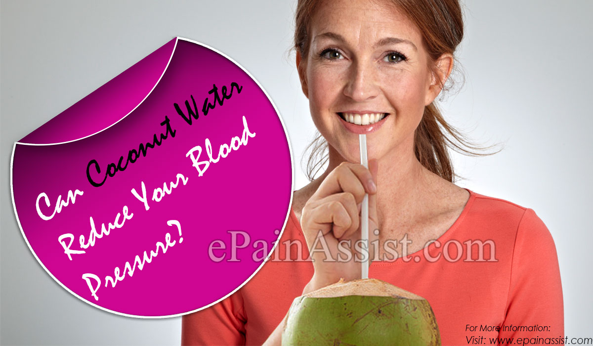Can Coconut Water Reduce Your Blood Pressure?
