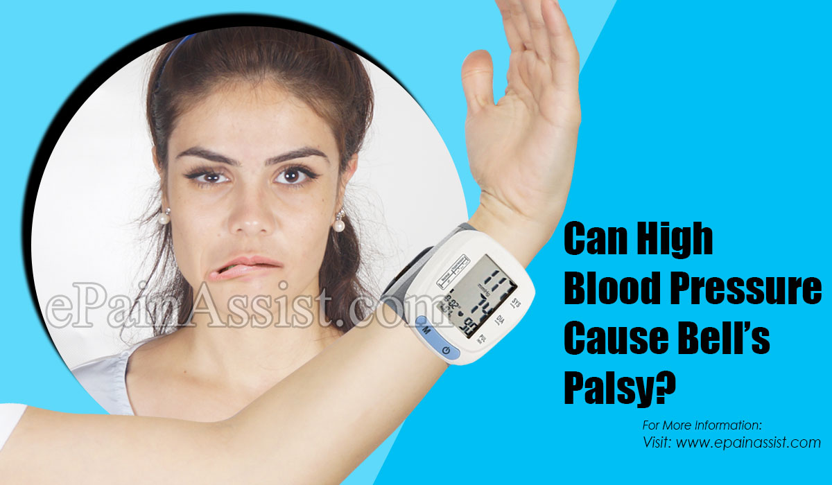 Can High Blood Pressure Cause Bell's Palsy?
