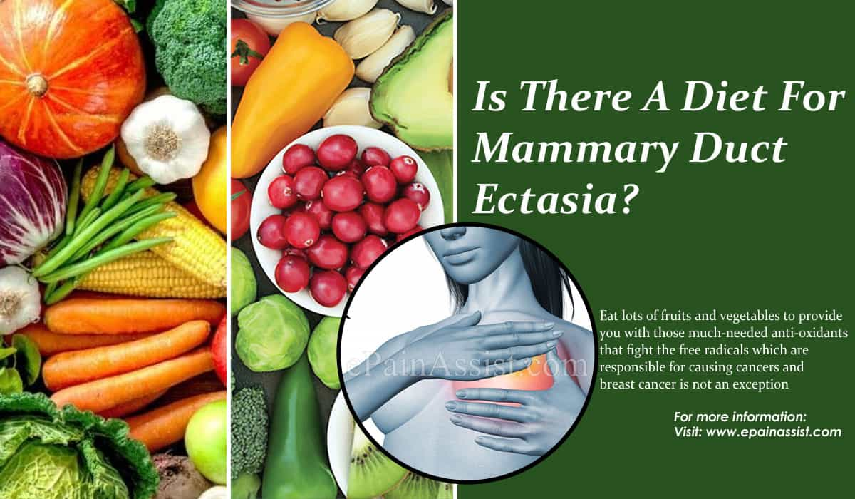 Is There A Diet For Mammary Duct Ectasia?