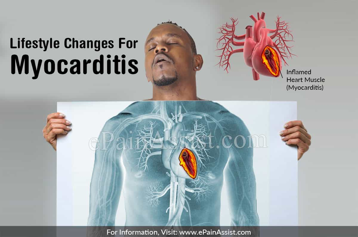 Lifestyle Changes For Myocarditis