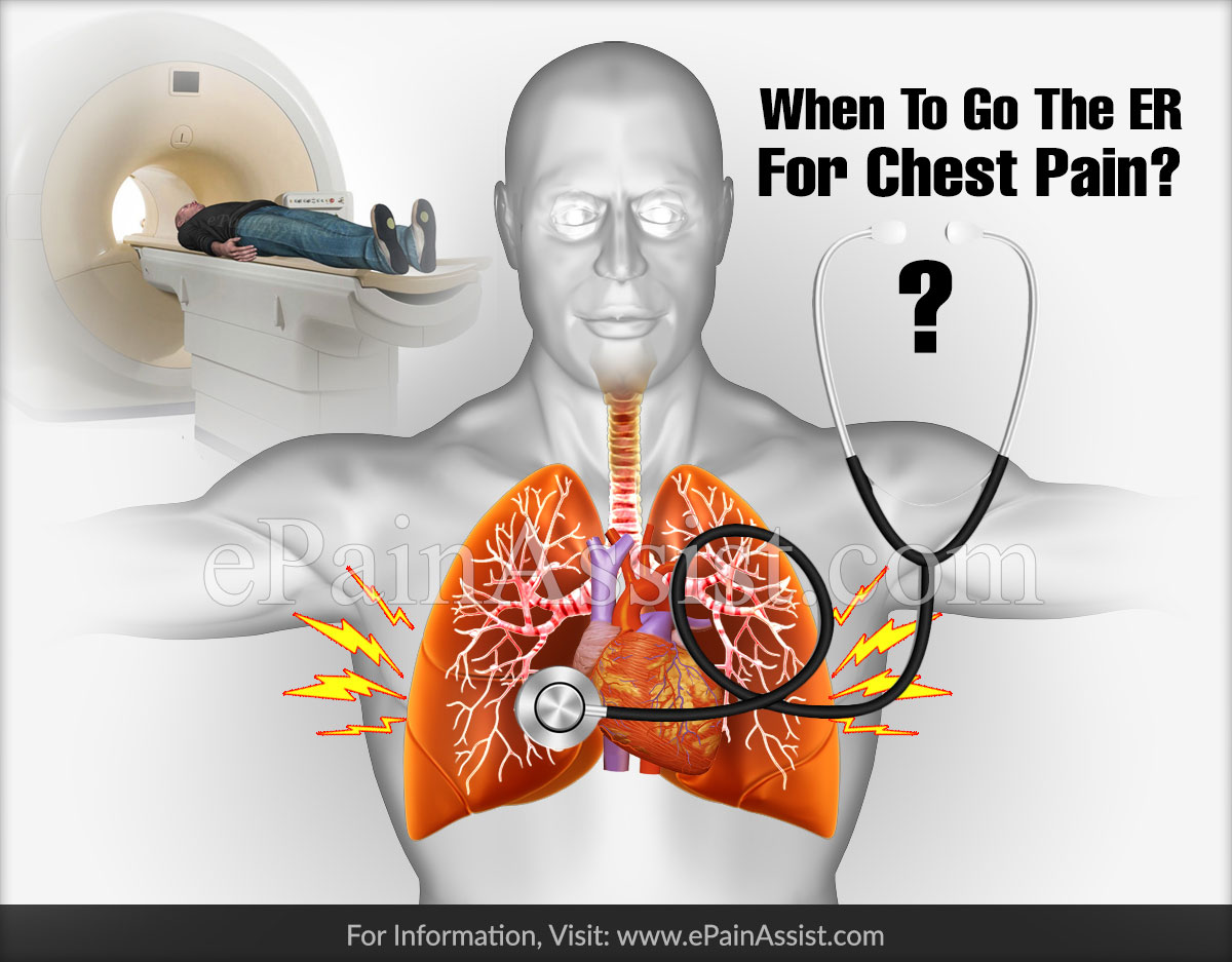 When To Go The ER For Chest Pain?