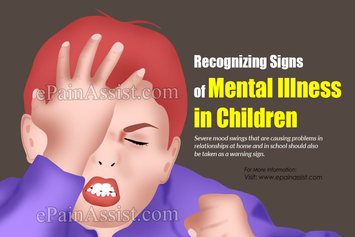Recognizing Signs of Mental Illness in Children