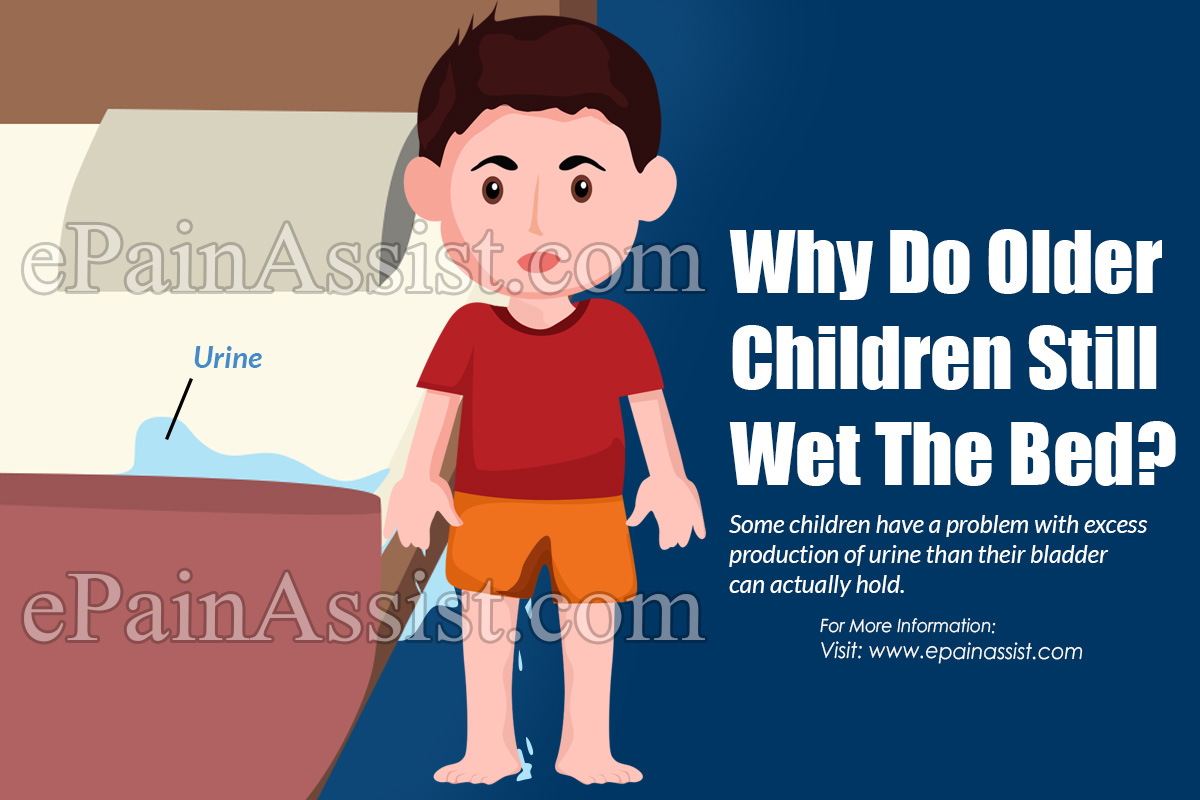 Why Do Older Children Still Wet The Bed?