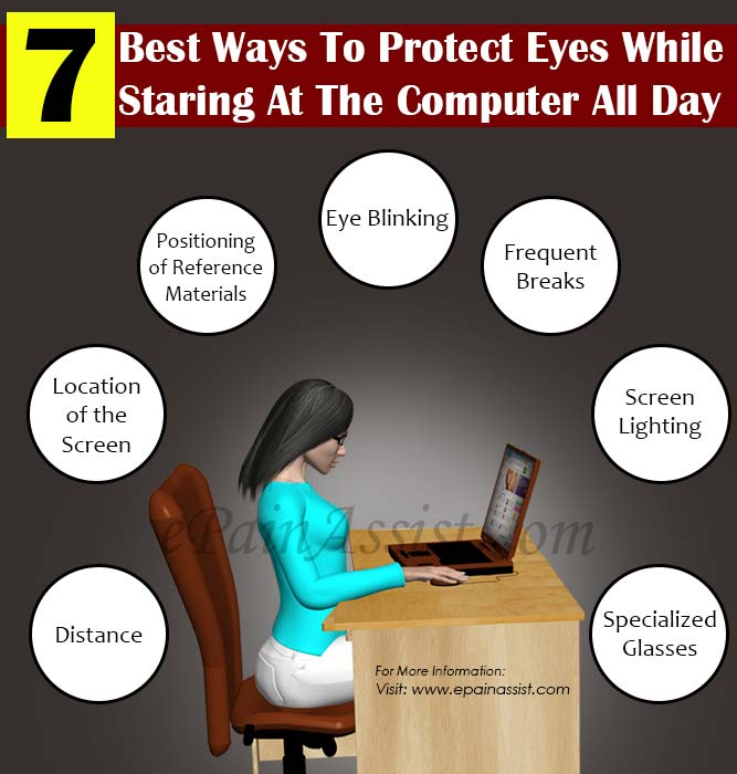 7 Best Ways To Protect Eyes While Staring At The Computer All Day