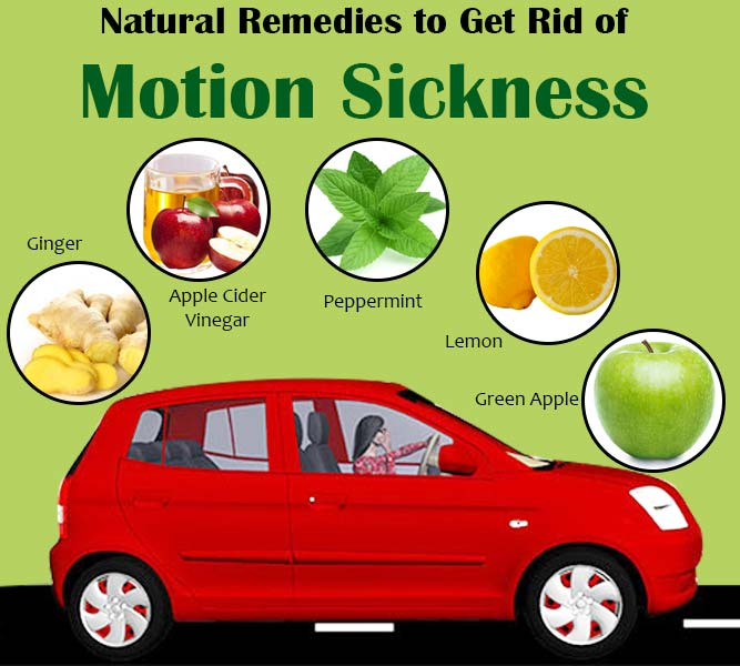 Natural Remedies to Get Rid of Motion Sickness