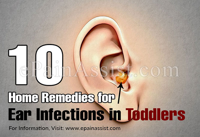 Home Remedies for Ear Infections in Toddlers