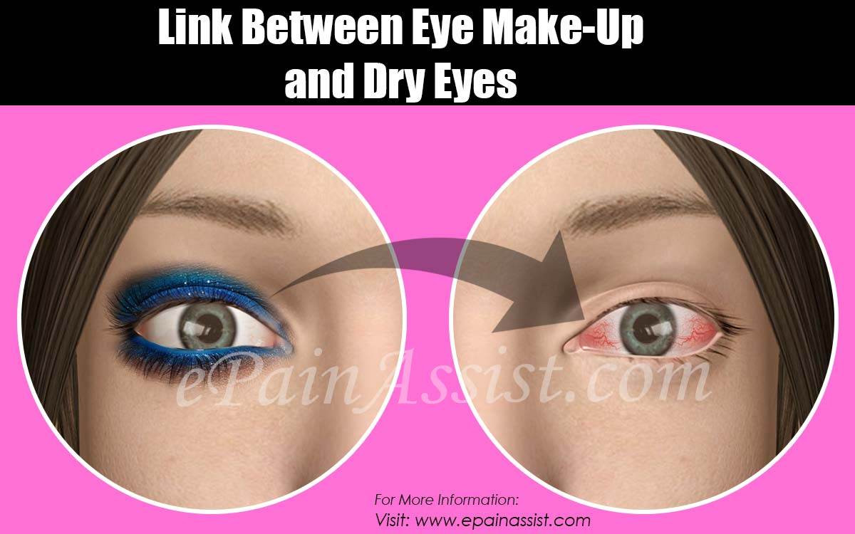 Link Between Eye Make Up And Dry Eyes