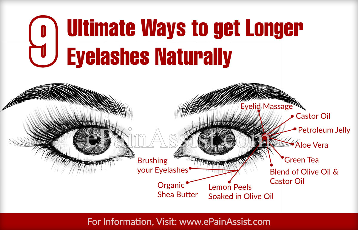 9 Ultimate Ways To Get Longer Eyelashes Naturally