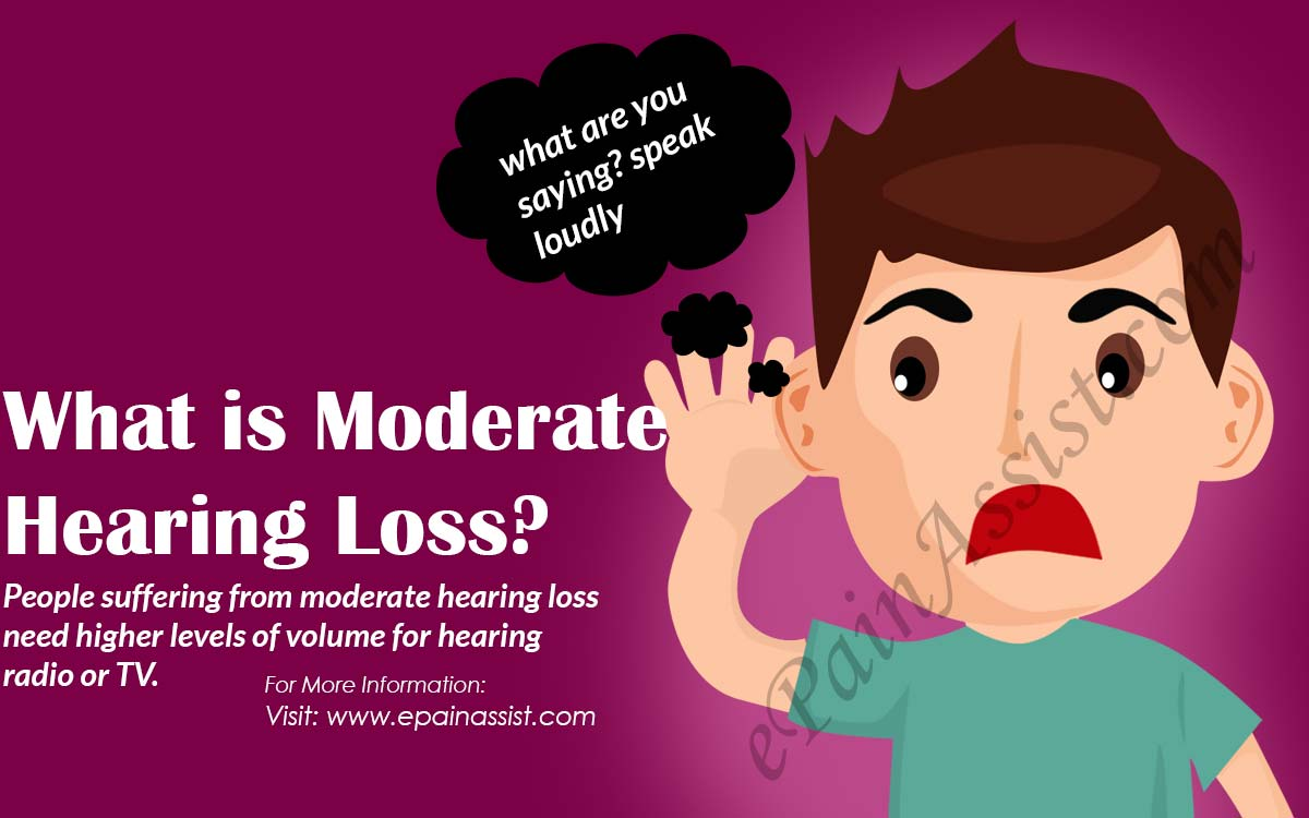 What is Moderate Hearing Loss?