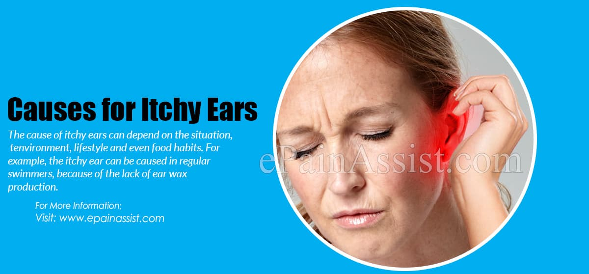 Causes for Itchy Ears