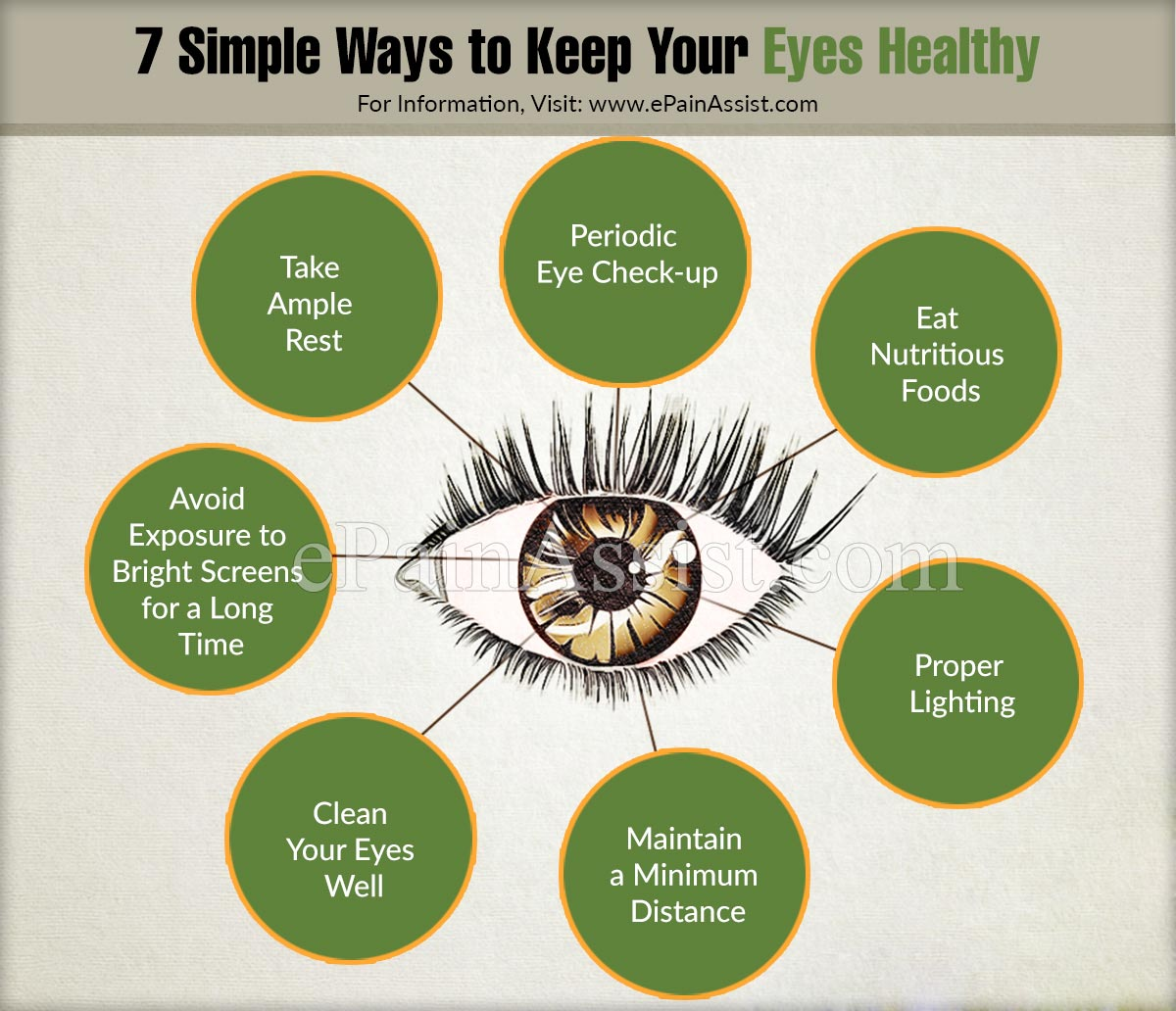 7 Simple Ways to Keep Your Eyes Healthy