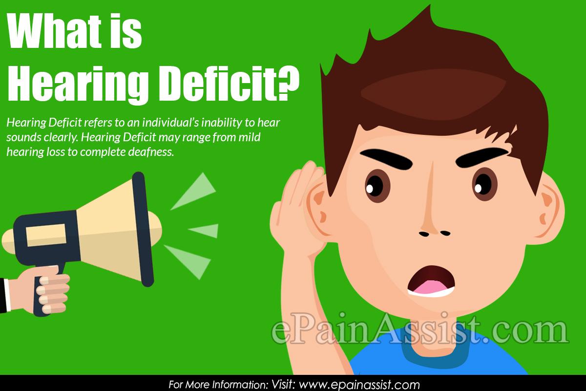 What is Hearing Deficit?