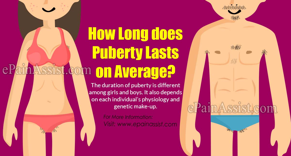 How Long Does Puberty Lasts on Average?