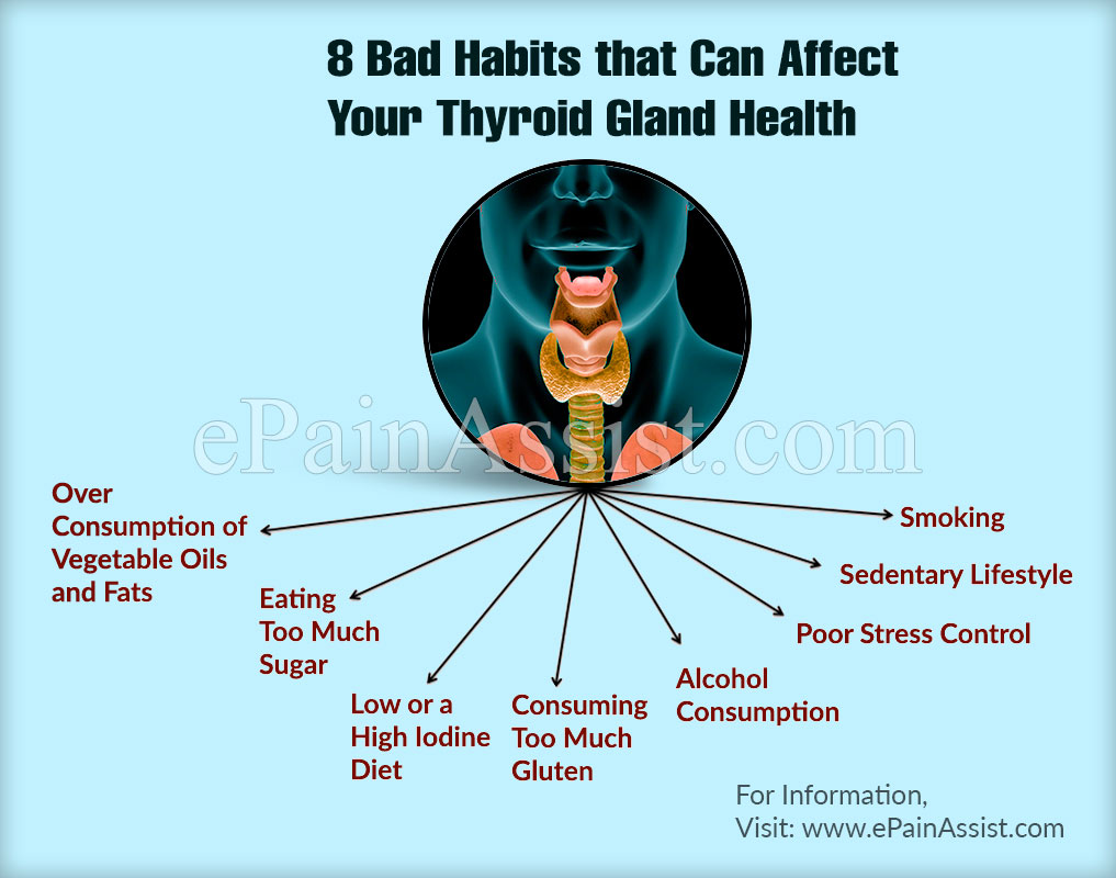These 8 Bad Habits Can Affect Your Thyroid Gland Health