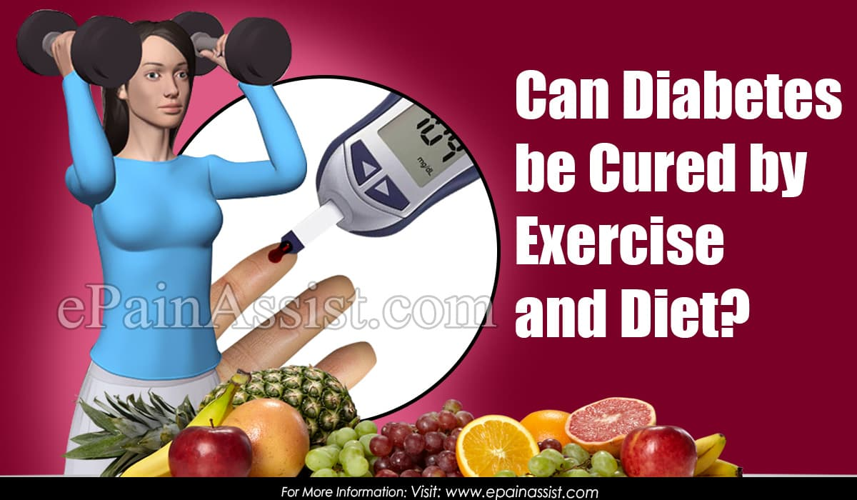 Can Diabetes be Cured by Exercise and Diet?