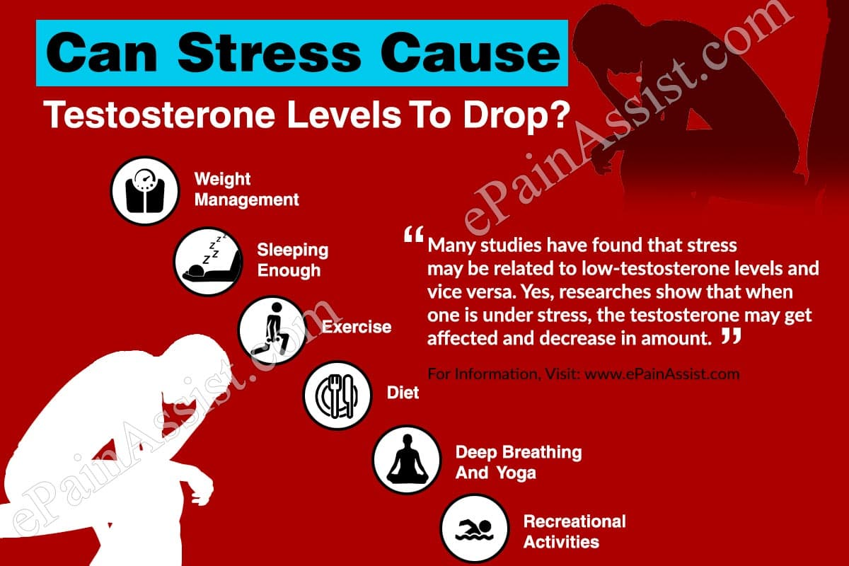 Can Stress Cause Testosterone Levels To Drop?